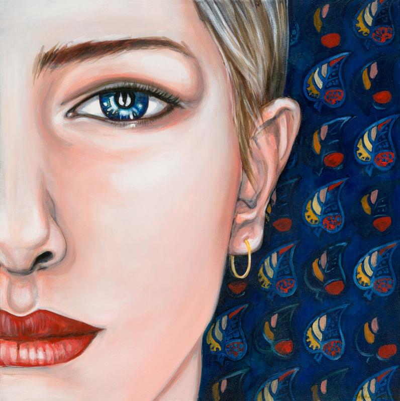 Alex, 2016, acrylic on canvas