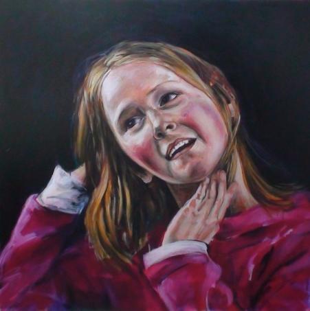 Dance, 2009, acrylic and oil on canvas