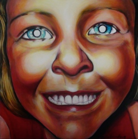 Smile, 2009, acrylic on canvas