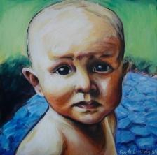 Howie I, 2009, acrylic on canvas