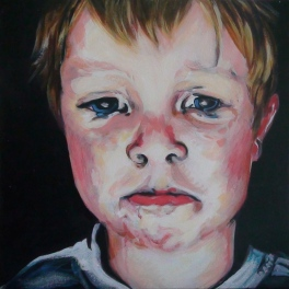 Howie II, acrylic on canvas