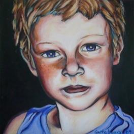 Howie II, 2009, acrylic on canvas