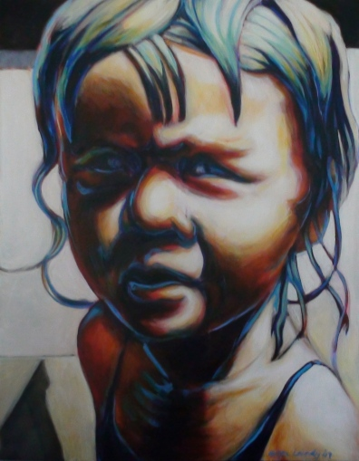 Baby, 2008-09, acrylic on canvas