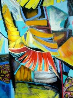 Home, 2006, acrylic on canvas