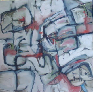 Stage II, 2008, acrylic on canvas. UNAVAILABLE