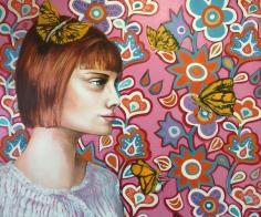 Paula's Flight, 2016, acrylic on canvas