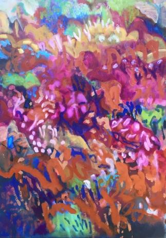 Flinders Walk (II), acrylic & oil on canvas, 102x71cm