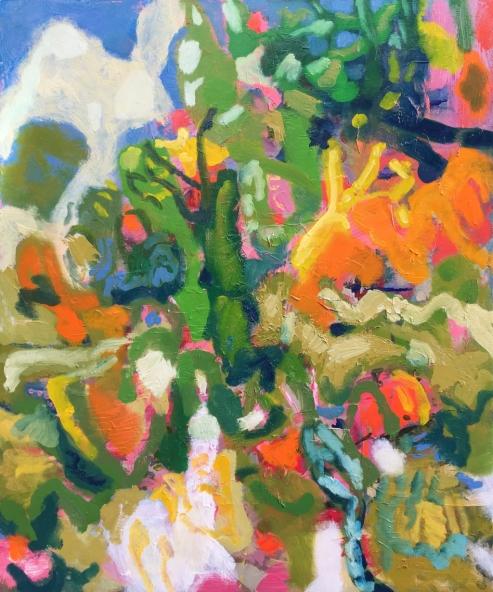 Gully Walk, oil on canvas, 91x76cm