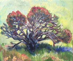 Tree of the Flinders, oil on canvas, May 2017