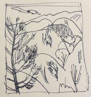 Artist journal sketch