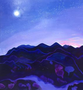'Dawn', (2017), oil on canvas