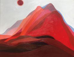'Hill Surge II' (2017), oil on canvas