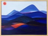 'Forever Land I' (2017), oil on canvas