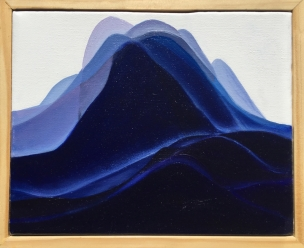 'Forever Land II' (2017), oil on canvas
