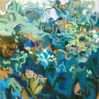 Secrets of the Undergrowth, oil on canvas, 102x107cm